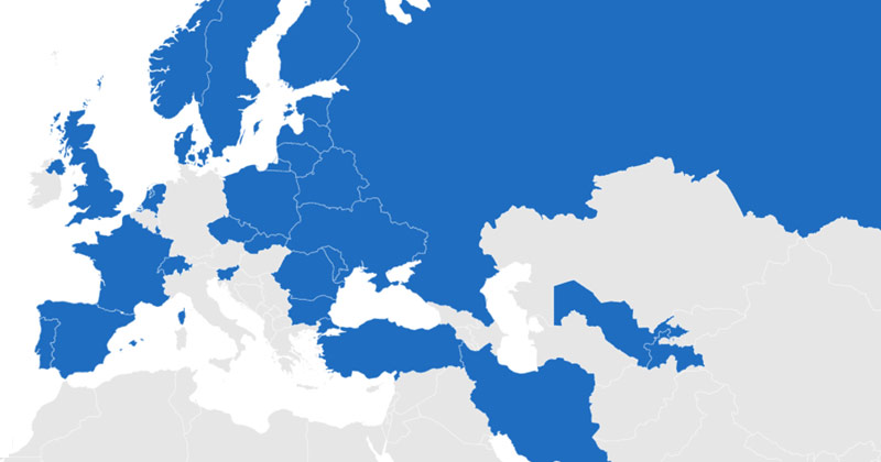 CMR and eCMR ratified countries