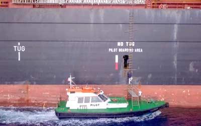 pilot boarding vessel