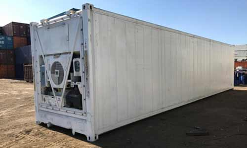 leased reefer container
