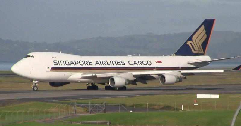 Boeing 747f singapore airlines