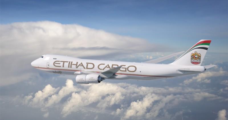 Etihad 747-8F